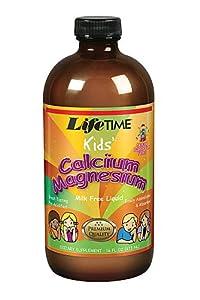 Kids Liquid Cal Mag Bubble Gum LifeTime 16 oz Liquid