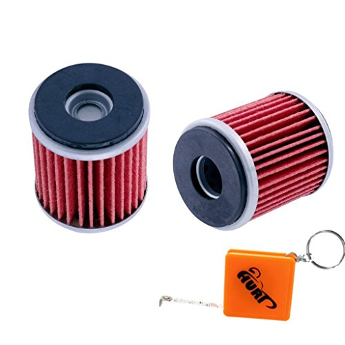 huri-2-pack-oil-filter-for-yamaha-wr125r-wr125x-2009-to-2016-rep-hiflofiltro-hf141-kn-kn-141-5ta-134