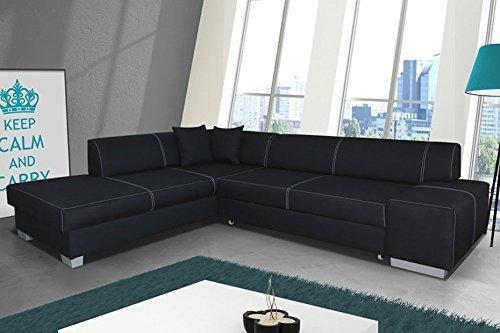 Divano ad angolo 2 divano ad angolo Divano Divano con Funzione letto 01556