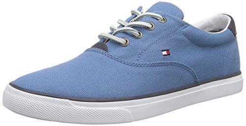 Tommy HilfigerW2285ILKES 2C - Zapatillas Hombre , color Azul, talla 42 UE