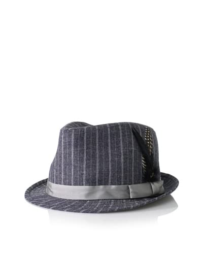 Ben Sherman Men's Striped Chambray Trilby
