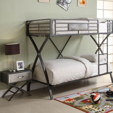 Homelegance Spaced 2 Piece Kids' Bedroom Set