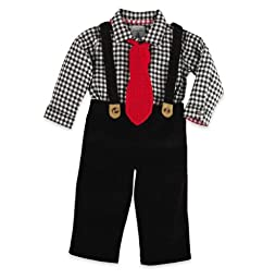 Mud Pie Little Boys\' Holiday 3 Piece Set, Multi colored, 5T
