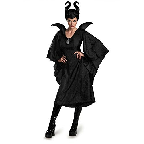 Disguise Women's Disney Maleficent Movie Maleficent Christening Black Costume