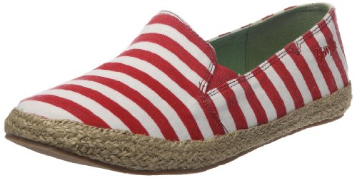 Blowfish Women's Huffish Red/White French Closed Toe BF1579 4 UK