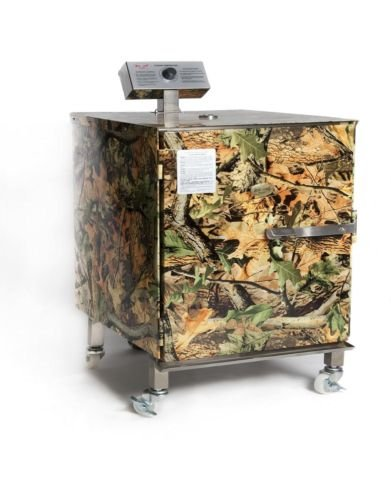 Iron Chef Kitchen Junior Smoker (BRAND NEW)- Electric 350W, Natural Camouflage Finish