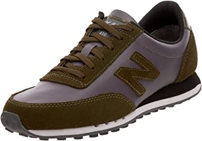 HKNB Heidi Klum for New Balance Women's 410 Sneaker, Castle Rock/Olive, 9 B US (40.5 EU)
