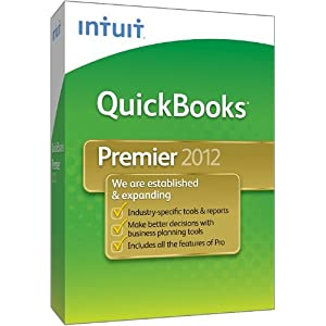 QuickBooks Premier 2012 for Windows