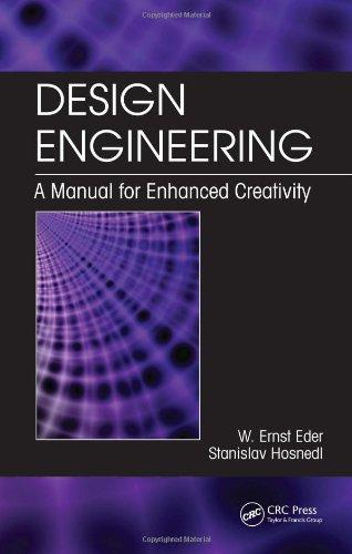 Design Engineering: A Manual for Enhanced Creativity
