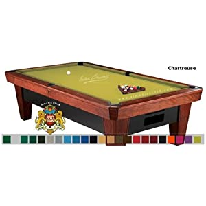 7 Simonis 860 English Green Pool Table Cloth Felt