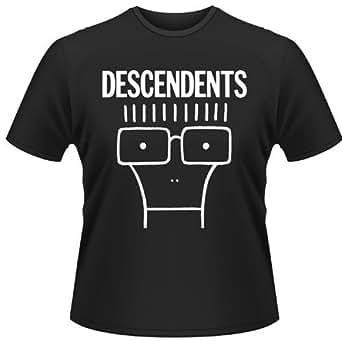 Plastic Head Descendents Milo Men's T-Shirt Black Small