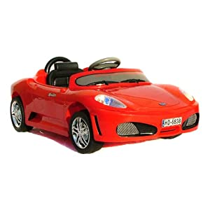 6v Electric Ride on - Ferrari style - New Upgraded version - now with twin motors!