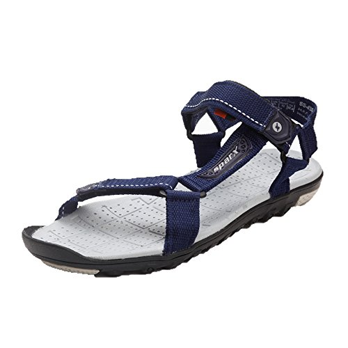 Sparx Sparx Men's Sandals & Floaters SS-436-BLUE-GREY (Multicolor)