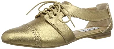 Steve Madden Womens CORI Oxford Gold Gold (Dusty gold) Size: 6