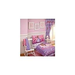 Disney Disney Sofia Tiara Time 4-Piece Toddler Bedding Set 08521409186