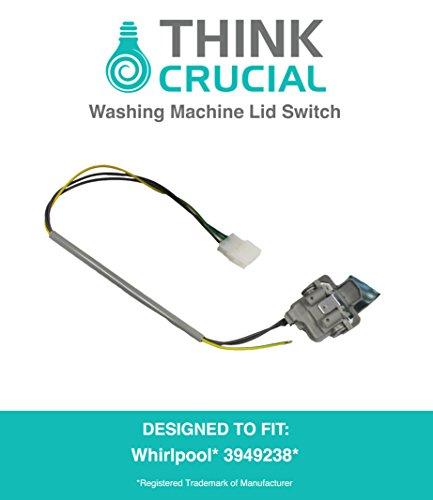 whirlpool washing machine lid switch part