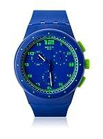 Swatch Reloj de cuarzo Unisex Unisex BLUE C SUSN400 42.0 mm