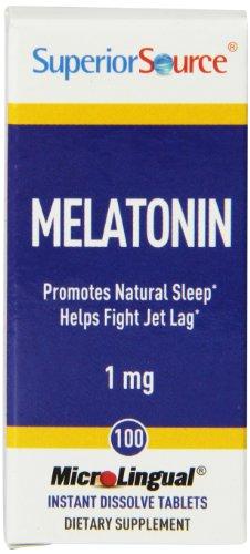 Superior Source Melatonin Multivitamin, 1Mg, 100 Count