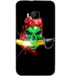 HTC ONE M9 PIRATE Back Cover by PRINTSWAG