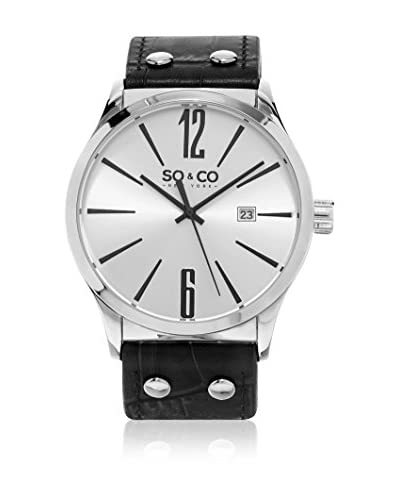 SO & CO New York Reloj con movimiento Miyota Quartz 45 mm