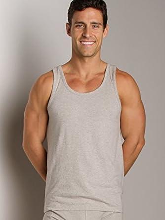 Nudie Jeans Organic Cotton Tank Top Grey