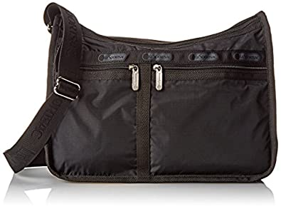 LeSportsac Deluxe Everyday Handbag,Black,one size