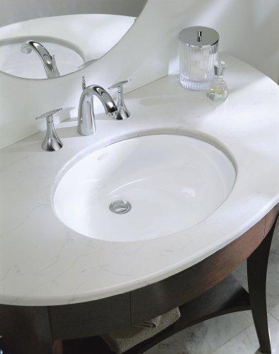 Kohler K 2210 0 Caxton Undercounter Bathroom Sink White