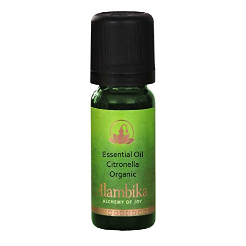 Citronella (Java-Type) Essential Oil, Certified Organic