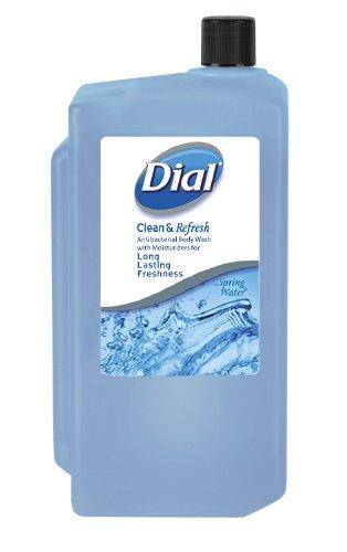 dial-1148484-spring-water-antibacterial-body-wash-1l-refill-cartridge-pack-of-8