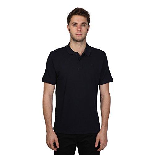Cerruti 1881 - Polo manica corta 100% cotone con piccolo logo - Uomo (XL) (Blu notte)
