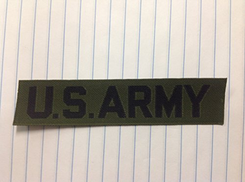 U.S. ARMY Branch Tapes OD - Olive Drab Olive Drab Branch
