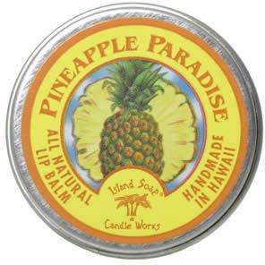 Island Soap&Candle Works ハワイアン リップバーム パイナップルパラダイス