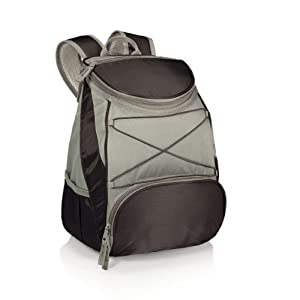 Picnic Time PTX Insulated Backpack Cooler, Black