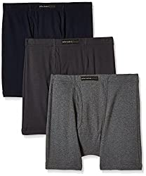 Chromozome Men's Cotton Trunk (Pack of 3) (8902733343688_IT 10_Small_Ash, Coal and Navy)