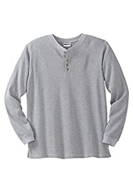 Kingsize Men's Big & Tall Waffle Knit…