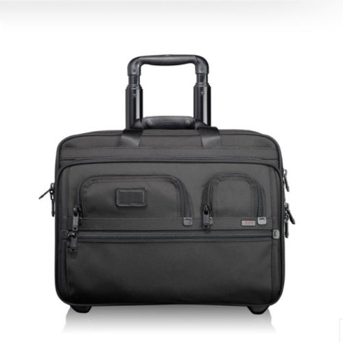 [トゥミ] TUMI ALPHA2 26127 ウィールド・エクスパンダブル・ブリーフ・ラップトップ/ Deluxe Wheeled Brief with Laptop Case [並行輸入品]