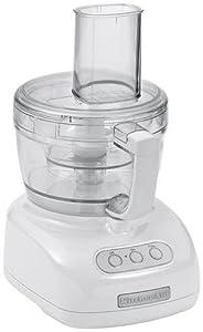 Kitchenaid KFP740 9-Cup Food Processor, White