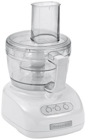 Kitchenaid KFP740 9-Cup Food Processor, White
