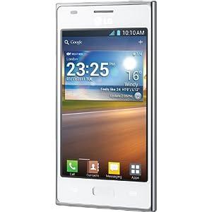 LG Optimus L5 Display 4 Pollici, Colore Bianco