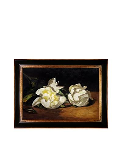 Édouard Manet Branch of White Peonies With Pruning Shears Reproduction Oil On Canvas