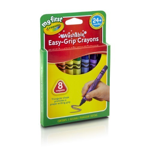 Crayola My First Crayola Triangular Crayons 8Ct By Crayola front-1072730