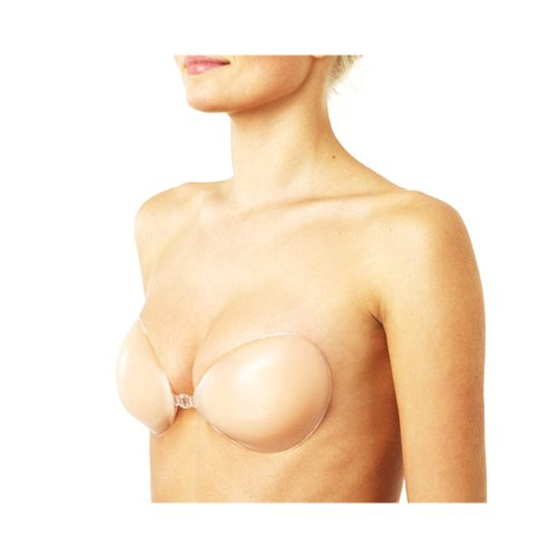 Backless & Strapless Silicone Adhesive Bra - Nude