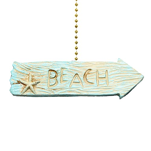 Beach Arrow Fan Pull Decorative Light Chain (Fan Pulls Decorative Nautical compare prices)