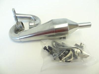 New King Motor Aluminum Tuned Pipe Fits 1/5 Scale HPI Baja 5B SS 5T 2.0 SC Rovan