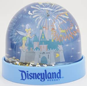 Disneyland Blue Tinker Bell Dome Snow Globe - Disney Parks Exclusive & Limited Availability by Disney Theme Parks Merchandise