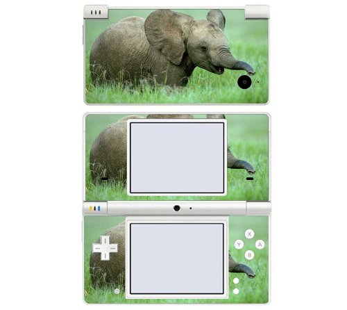 Baby Elephant Decorative Protector Skin Decal Sticker for Nintendo DSi
