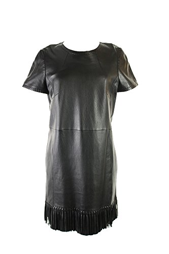 paule-ka-short-sleeve-fringed-paneled-leather-dress-msrp