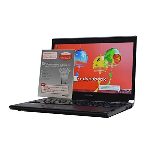 中古ノートパソコン 【Microsoft Office インストール済み】TOSHIBA dynabook R731/C 薄型軽量 13.3インチ CPU:Core i5-2.50GHz メモリ:8GB(最大メモリ搭載) HD:250GB WiFi対応無線LAN搭載 Windows7Pro64bit DtoDリカバリ仕様