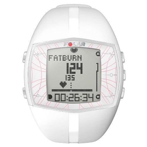 POLAR FT40 F Womens Heart Rate Monitor - White