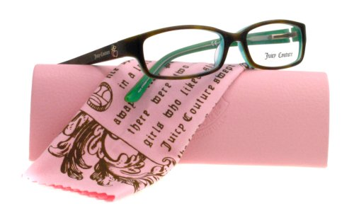 JUICY COUTURE EYEGLASSES JU HANAHM 0EG4 TORTIOSSEAGREEN